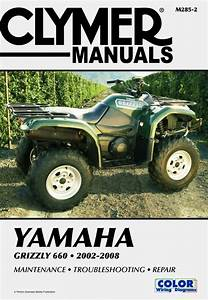 Yamaha Yfm660f Grizzly 660 Atv  2002