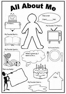 This is an awesome free worksheet as a 39getting to know for About me template for students