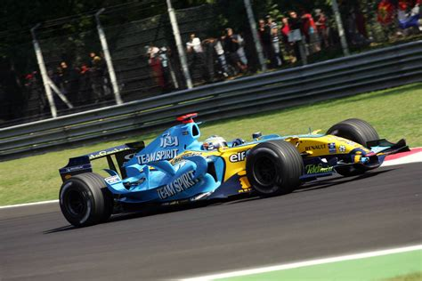 Renault R26 by R26 Renault 2006 Monza Fernando Alonso Monza F 243 Rmula 1