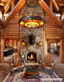 log home interior decorating ideas log home decorating on a truly grand scale