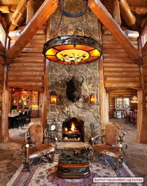 Log Home Decorating On A Truly Grand Scale
