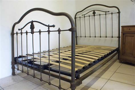 propane wall antique iron bed restoration into the glass and