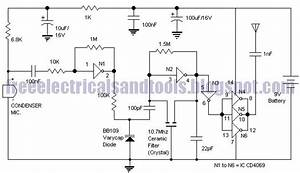 Free Schematic Diagram  Fm Transmitter Circuit Type Versatile