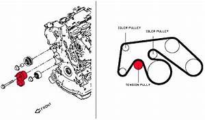 Oem Vr30ddtt Belt Tensioner Assembly  Z1 Motorsports 300zx