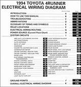 1995 Toyota 4runner Wiring Diagram