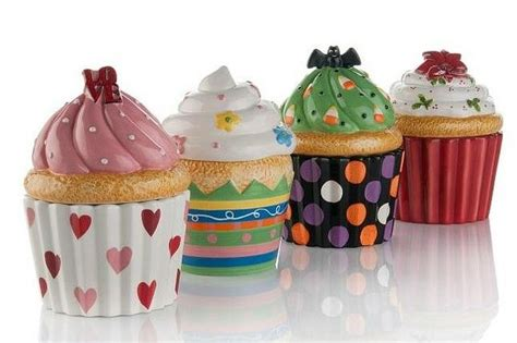 cupcake canisters for kitchen 17 best ideas about cupcake kitchen decor on