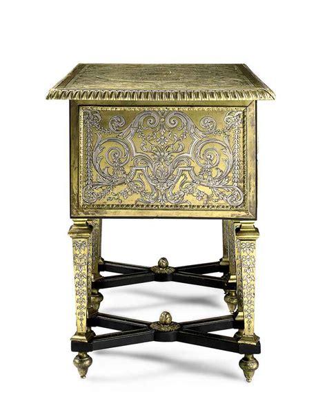 bureau mazarin a louis xiv ormolu mounted brass and pewter inlaid