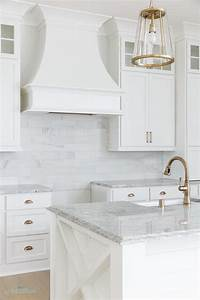 Gray granite countertops transitional kitchen for What kind of paint to use on kitchen cabinets for tri panel wall art
