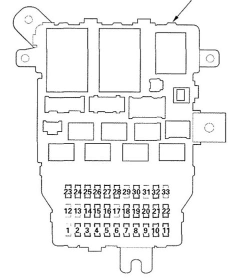 2006 Acura Rl Wiring Diagram by Acura Rl 2005 2006 Wiring Diagrams Fuse Panel
