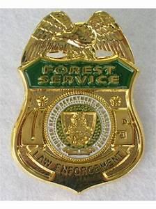 Usfs, Law, Enforcement, Tie, Pin, Lapel, Pin