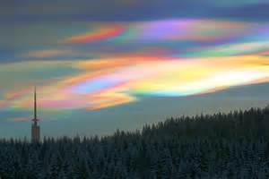 Sky Clouds Rainbow