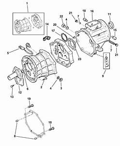1998 Jeep Wrangler Case  U0026 Related Parts Of Manual Transmission