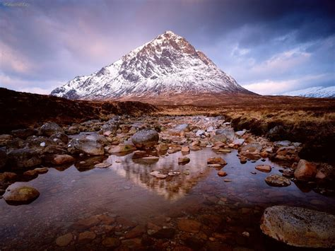 nature buachaille etive mor glencoe scotland picture