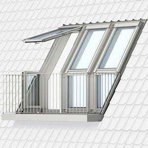 Dachbalkon Nachträglich Einbauen : vom fenster zum dachbalkon oder dachaustritt velux ~ Michelbontemps.com Haus und Dekorationen