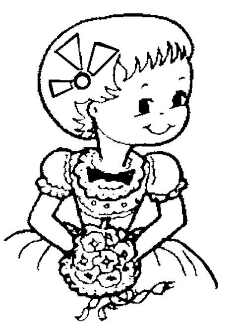 Kleurplaat Trouw by Trouwen Huwelijk Kleurplaten Bruidsmeisje