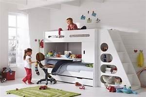 Lit Enfant 4 Ans : comment am nager une chambre pour 2 enfants la vie de b b ~ Teatrodelosmanantiales.com Idées de Décoration