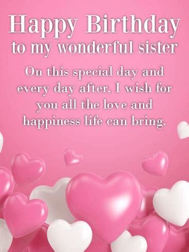 pin  birthday cards  sister