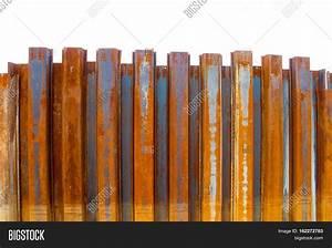 Sheet Pile Wall Steel Retaining Image & Photo | Bigstock