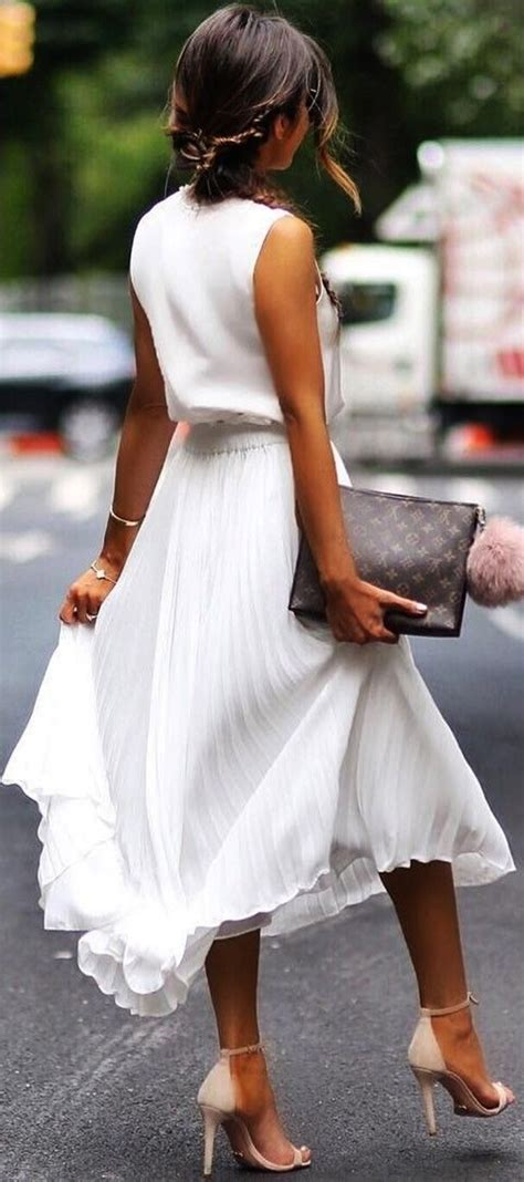 Ladies All White Party Outfit Ideas