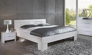 Massivholzbett 180x200 Weiß : dico classic 375 massivholzbett wei und mehr farben m belmeile24 ~ One.caynefoto.club Haus und Dekorationen