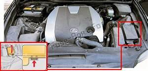 Fuse Box Diagram Lexus Gs250    Gs350  L10  2012