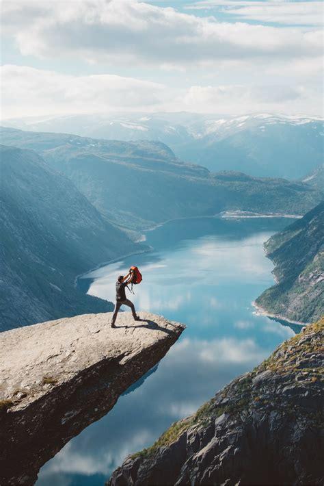 hardangerfjord fjord norway trolltunga travel