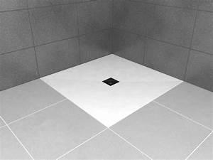 Receveur De Douche Wedi : receveurs de douches a carreler wedi receveur de douche wedi avec rev tement pr t poser en ~ Melissatoandfro.com Idées de Décoration