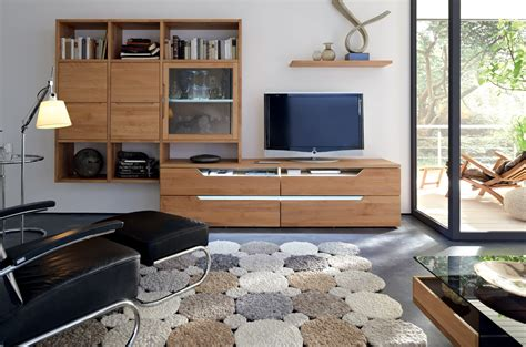 Wooden Finish Wall Unit Combinations From Hulsta wooden finish wall unit combinations from h 252 lsta living