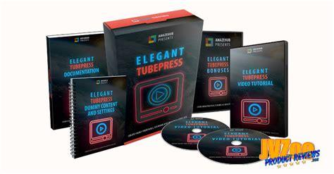 Elegant Tubepress Review And Bonuses + Special Bonuses
