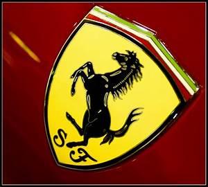 mix things: ferrari car logo history
