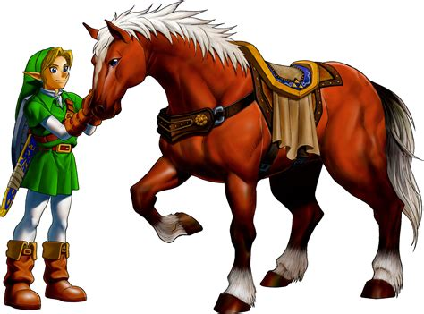 epona zelda link ocarina horse legend wikia game concept