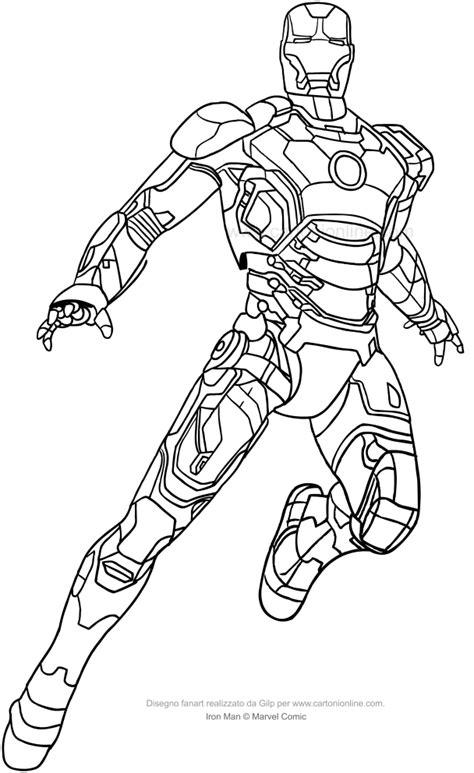 iron disegni da colorare per bambini disegno di iron a figura intera da colorare