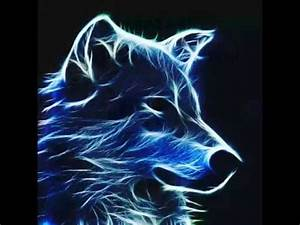 Image Gallery Neon Wolf