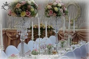 Deko Für Hochzeit : besondere hochzeitsdeko mit kristallst nder f r glamour se hochzeit ~ Markanthonyermac.com Haus und Dekorationen