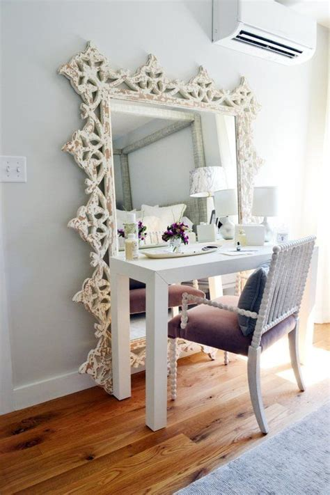 desk and vanity combo ideas 13 floor mirror turned vanity find your fantasy makeup