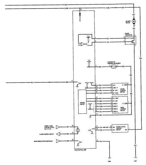 diagram hvac air conditioning wiring diagram