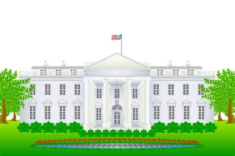 White House Clip White House Clipart Clipground