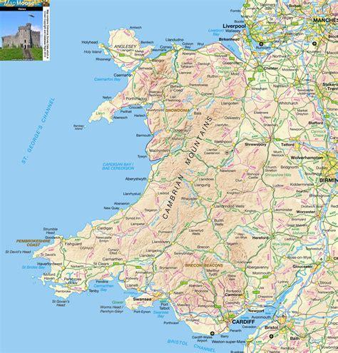 maps  wales fun tours wales