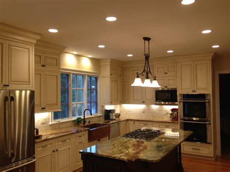 pot lighting  kitchen bclight