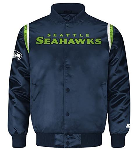 nfl seattle seahawks starter jacket ebay