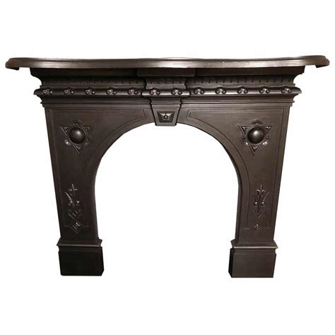 old cast iron antique cast iron fire surround from the victorian