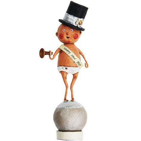 Baby New Year Figurine: MODERN LOLA