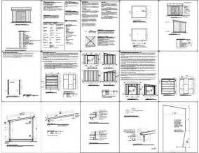 187 simple 10 215 12 storage shed plan plans do it yourself