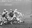 American professional football player Joe Schmidt of the ...