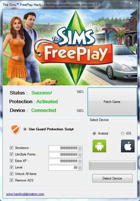 sims  play hack cheats  files  tools