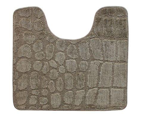 tapis contour wc toilette lavabo tendance croco chic
