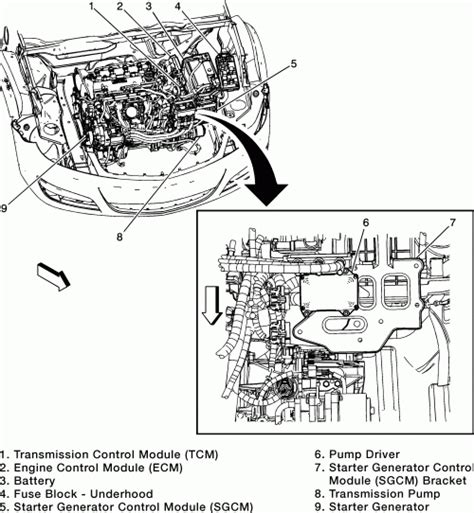 Saturn Aura Engine Diagram Automotive Parts