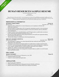 Human resources hr resume sample writing tips for Human resources resume examples