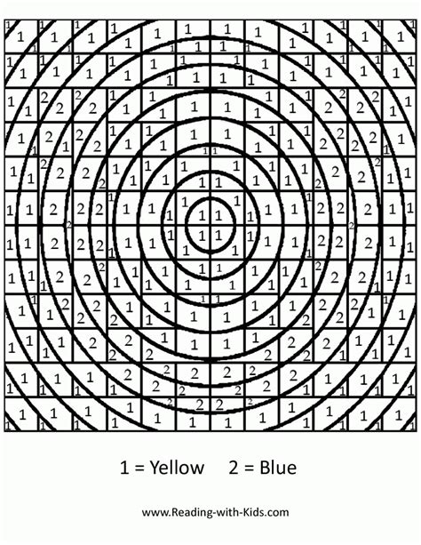 hard color  number coloring pages coloring home