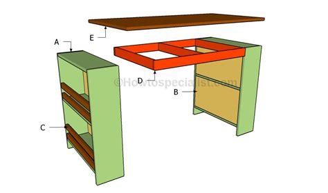 build diy kids desk plans plans wooden multi wall unit